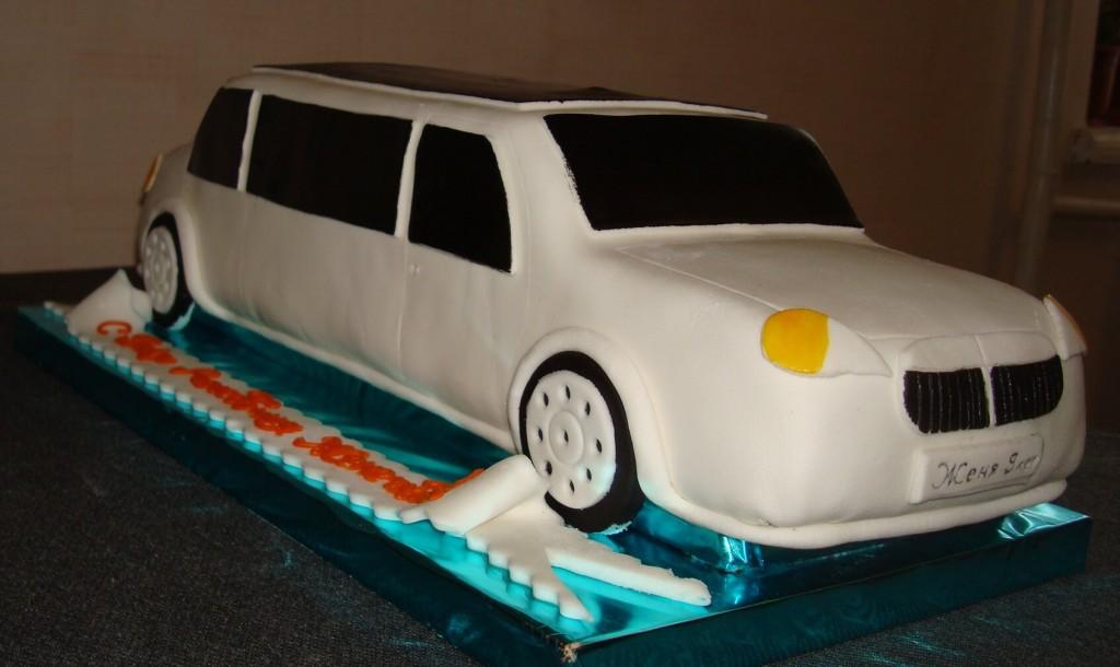 лимузин фото торт